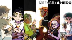 Not Exactly A Hero!: ビジュアルノベル、アドベンチャーゲームのおすすめ画像2