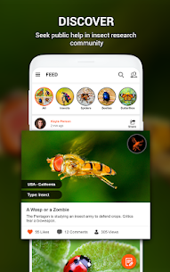 Insect identifier App by Photo, Camera Mod Apk (Subscription Activated) 2