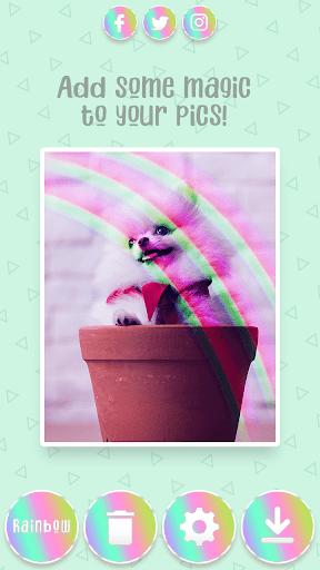 Rainbow Camera Filter ud83cudf08 screenshots 2