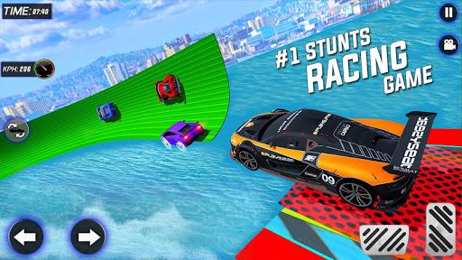 Extreme Mega Ramp GT Car Stunts- New Car Game  Screenshots 5