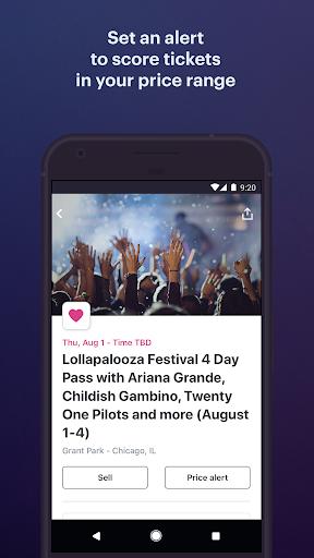 StubHub - Live Event Tickets modavailable screenshots 4