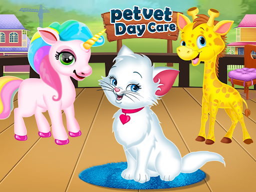 Pet Vet Care Wash Feed & Play - Animal Doctor  screenshots 13