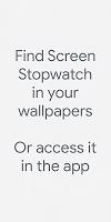 Screen Stopwatch - A Digital Wellbeing Experiment