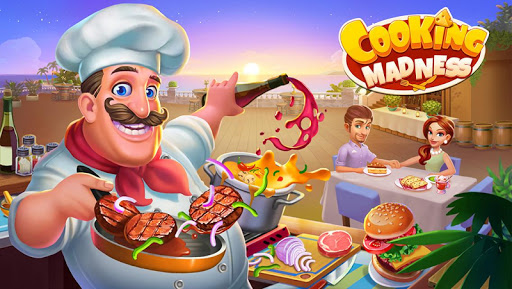 Code Triche Cooking Madness - Un Jeu de Chef de Restaurant APK MOD (Astuce) screenshots 1