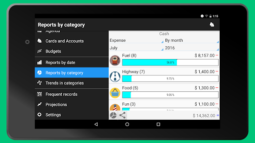 Daily Expenses 3: Personal finance android2mod screenshots 15