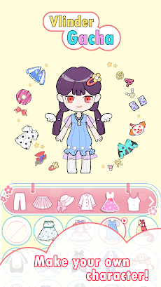 Vlinder Gacha - ファッション 着せ替えゲーム キャラクター作成のおすすめ画像3
