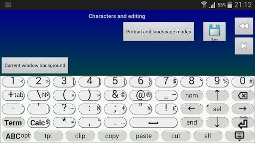 Jbak2 keyboard. Constructor. 2.33.17 Screenshots 10