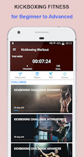 Kickboxing Fitness Workout At Home