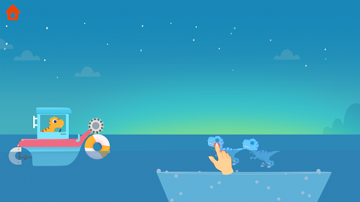 Dinosaur Patrol Boat - Coast Guard Games for kids apkmr screenshots 7