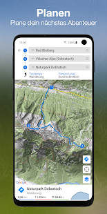 bergfex/Touren & GPS Tracking Wandern Bike Laufen Screenshot