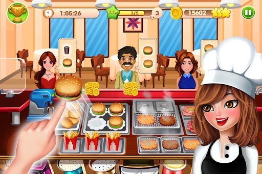 Cooking Talent - Restaurant fever 1.1.5.7 screenshots 1