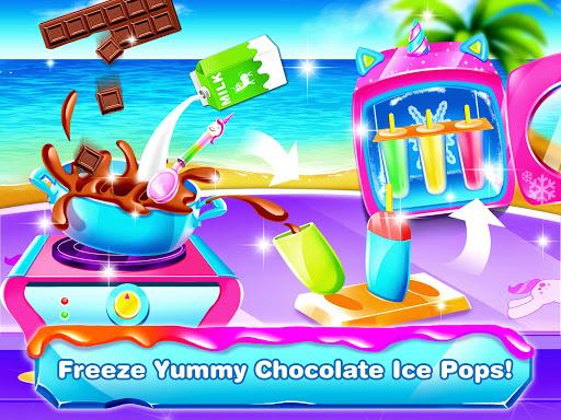 Unicorn Icepop - Ice Popsicle Mania apktram screenshots 3