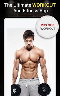 Pro Gym Workout (Gym Workouts & Fitness) 5.4 Screenshots 9