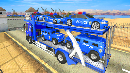 Grand Police Transport Truck 1.0.24 Screenshots 16