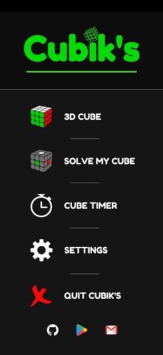 Cubik's - Rubik's Cube Solver, Simulator and Timer 8 screenshots 1