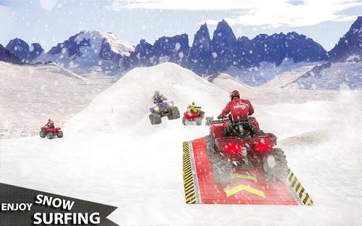 ATV Quad Derby Racing: Snow Trials Bike Xtreme  screenshots 14