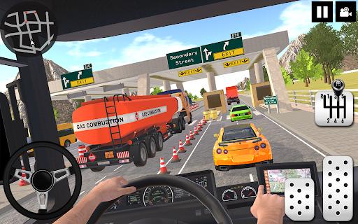 Oil Tanker Truck Driver 3D - Free Truck Games 2020  screenshots 15