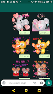 2020 Valentine's Day – Year of Mouse Sticker 1.6 Latest MOD APK 2