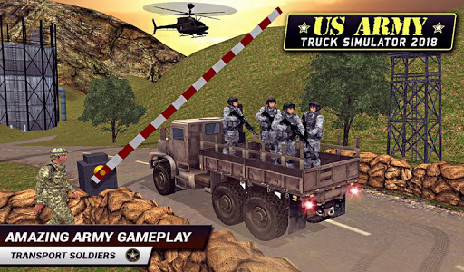 US Army Truck Driving 2021: Real Military Truck 3D apktram screenshots 13