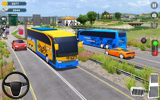 City Bus Games 3D: Driving Bus Games 2021 screenshots 6
