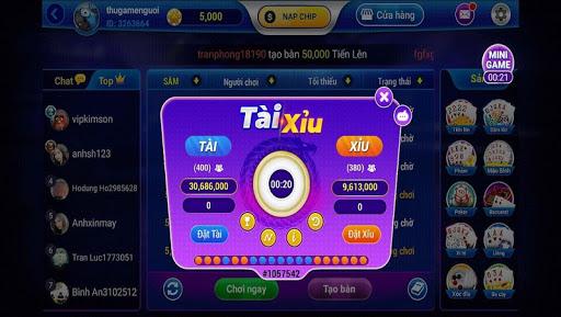 Game bai 3C - Danh bai doi thuong Online  Screenshots 3