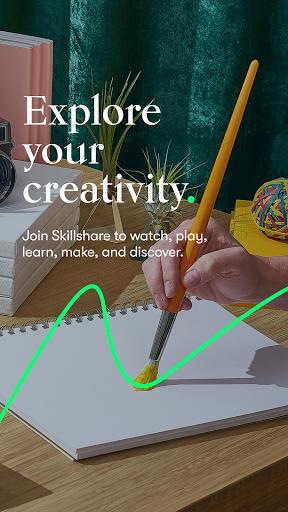 Skillshare - Creative Classes 5.3.8 Screenshots 1