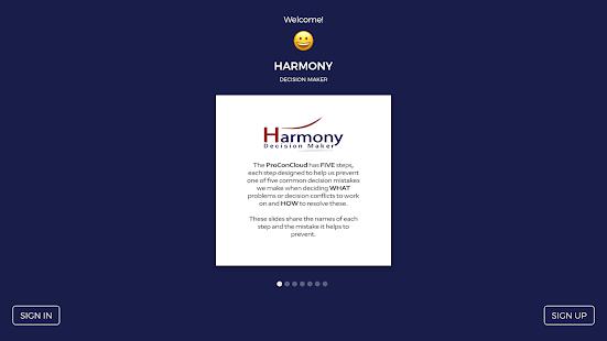 Harmony Decision Maker