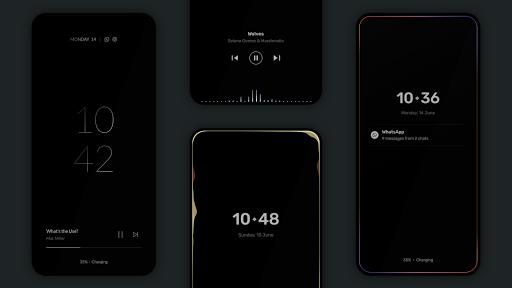 Muviz Edge - AOD Edge Lighting & Music Visualizer android2mod screenshots 3