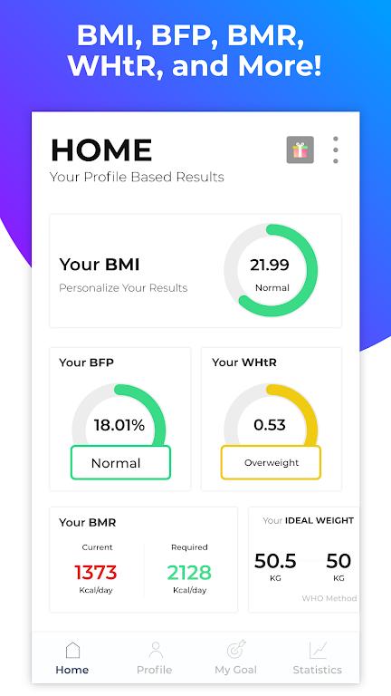 BMI Calculator: Body Fat Percentage & Ideal Weight  poster 6
