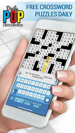 Daily POP Crosswords: Daily Puzzle Crossword Quiz 2.8.4 screenshots 1