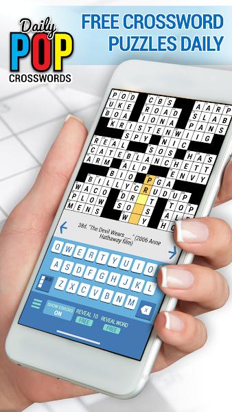 Daily POP Crosswords: Daily Puzzle Crossword Quiz