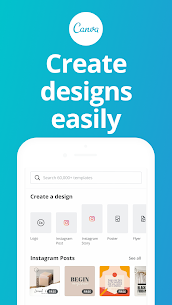 Download Canva: Graphic Design, Video Collage, Logo Maker for Android (Latest Version 2021) 1