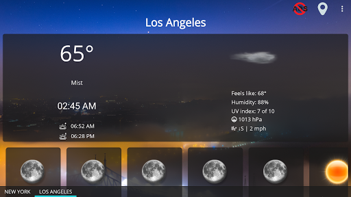 Weather forecast & transparent clock widget  Screenshots 20