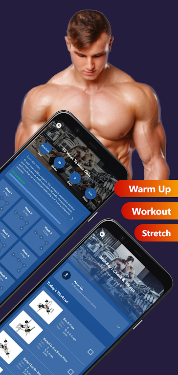 Olympia Pro - Gym Workout & Fitness Trainer AdFree poster 6