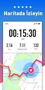 Ücretsiz Koşu Uygulaması  GPS' li ve Haritalı Koşu İzleyici Güncel 2021** 1