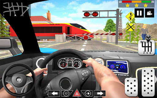 Car Driving School 2020: Real Driving Academy Test 1.44 pic 2