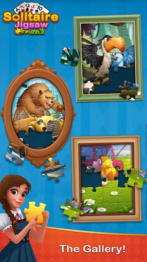 Solitaire Jigsaw Puzzle - Design My Art Gallery  screenshots 4