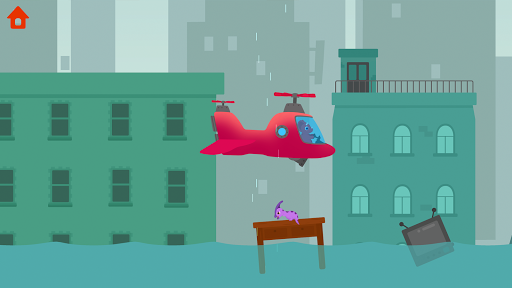 Dinosaur Helicopter - Games for kids  screenshots 6