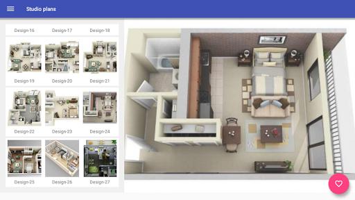 3d Home designs layouts 9.7 Screenshots 6