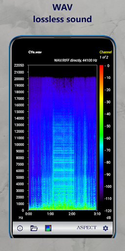 Download APK: Aspect Pro – Spectrogram Analyzer for Audio Files v2.3.21093 [Pro]