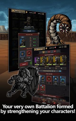 Titan Slayer: Roguelike Strategy Card Game apktram screenshots 17
