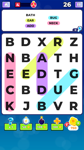 Word Search. Offline Games  screenshots 2