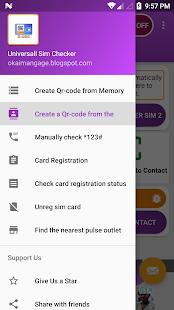 phone number check (Qr-code) : stats & Unregister 3.9 Qr-code pro smartphone APK screenshots 2