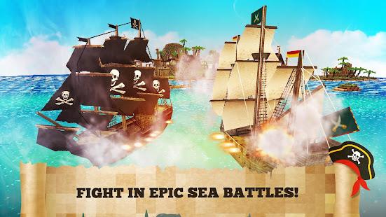 Pirate Crafts Cube Exploration 1.25-minApi23 screenshots 1