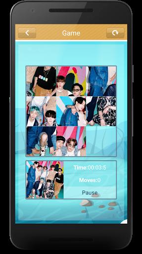 BTS Slide Puzzle Game  screenshots 2