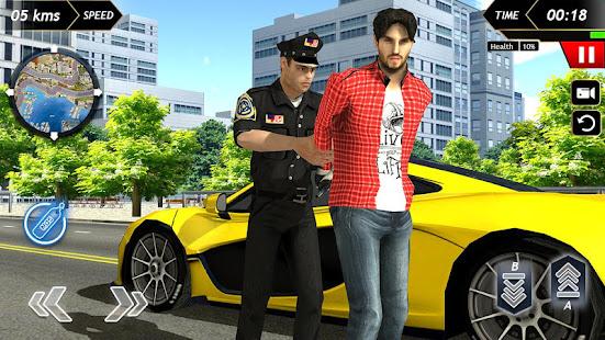 Police Car Racing 2020 Free screenshots 1