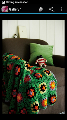かぎ針編みの毛布のおすすめ画像4