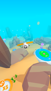 Sky Glider 3D Mod Apk (Unlimited Golds) 3