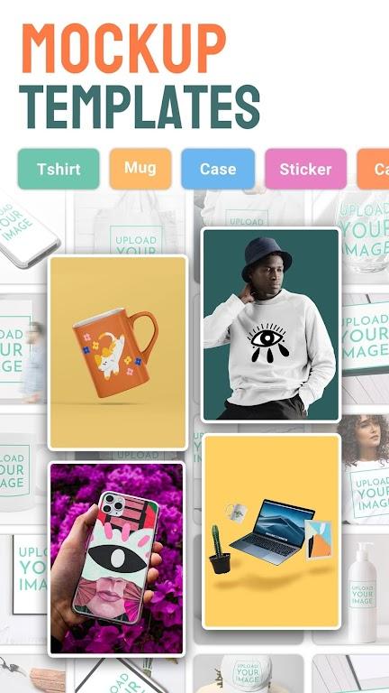 Mockup Generator Mockitup - Shirts Mockups & More poster 0