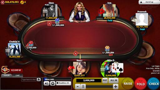 FacePoker Texas Holdem Poker 2.9 screenshots 3